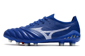 Chuteira Mizuno Morelia Neo 3 β Made In Japan - Azul/Branco