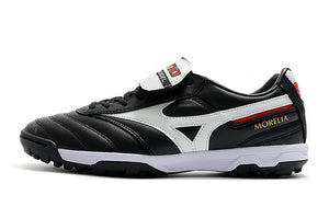Chuteira Mizuno Morelia Elite As II Pro Society TF - Preto/Branco