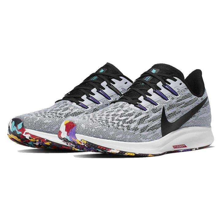 "Tênis Nike Air Zoom Pegasus 36 ""Grey White"""