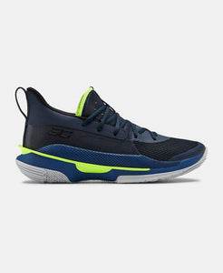 Tênis Under Armour Curry 7 - Azul/Verde