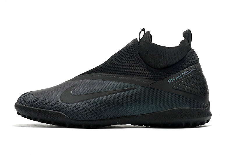 "Chuteira Nike React Phantom Vision 2 Pro Society TF ""Kinetic Black"""