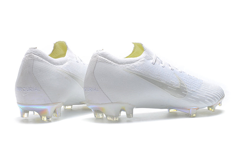 Chuteira Nike Mercurial Vapor 12 Elite FG - All White