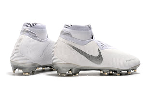 Chuteira Nike Phantom Vision Elite Dynamic Fit FG - Branco e Cinza