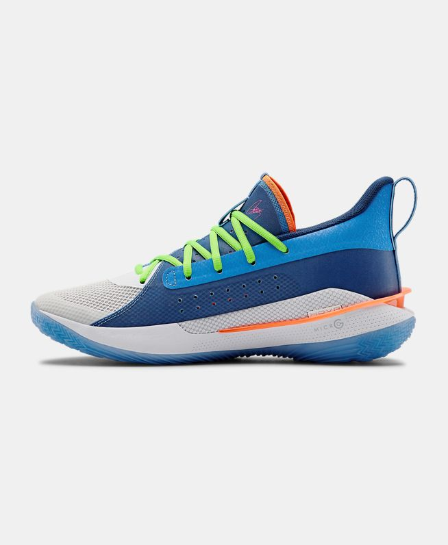 "Tênis Under Armour Curry 7 ""Super Soaker"""