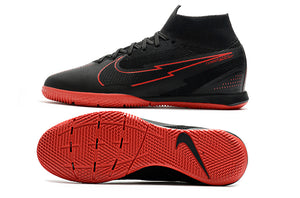 "Chuteira Nike Mercurial Superfly 7 Elite Futsal IC ""BlackxRed"""
