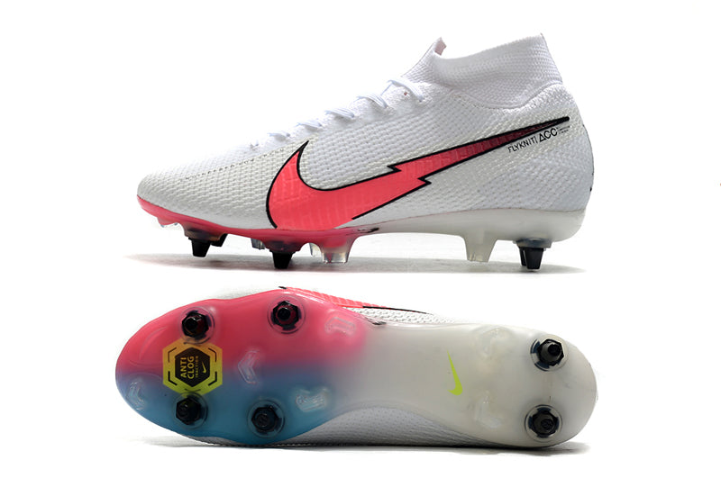 "Chuteira Nike Mercurial Superfly 7 Elite SG FG  ""Flash Crimson"""
