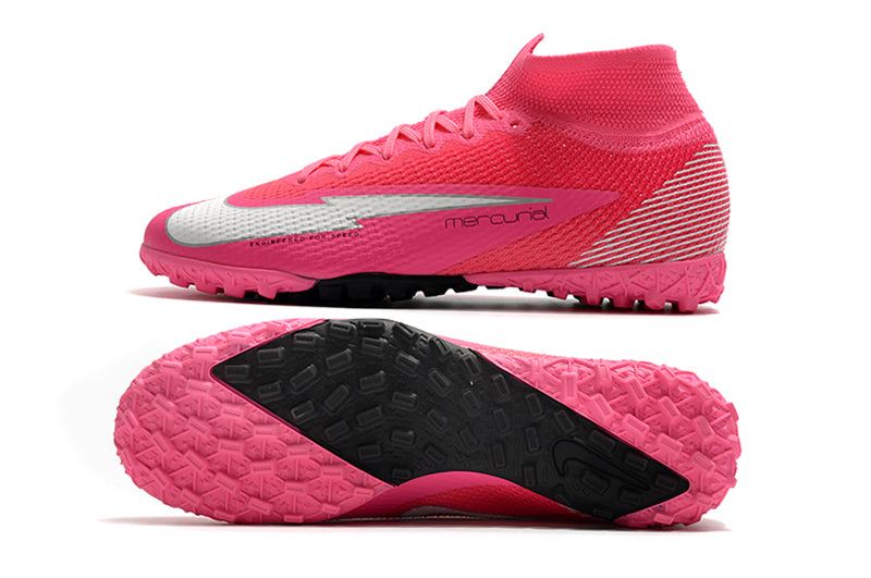 "Chuteira Nike Mercurial Superfly 7  Elite Society TF ""Mbappe"""