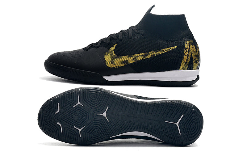 "Chuteira Nike Mercurial Superfly 6 Futsal IC  ""Black Lux"""