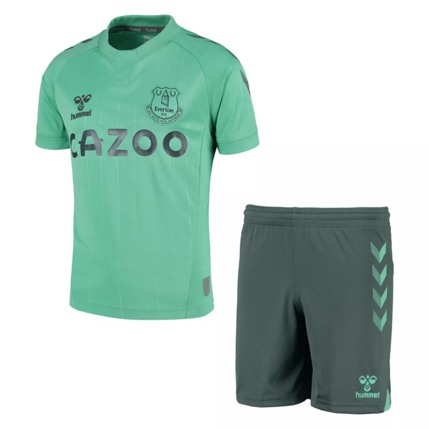 Camisa e Shorts Everton Third 20/21 - Infantil