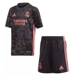 Camisa e Shorts Real Madrid Third 20/21 - Adidas Infantil