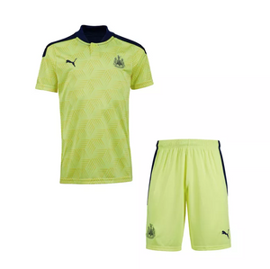 Camisa e Shorts Newcastle Away 20/21 - Puma Infantil