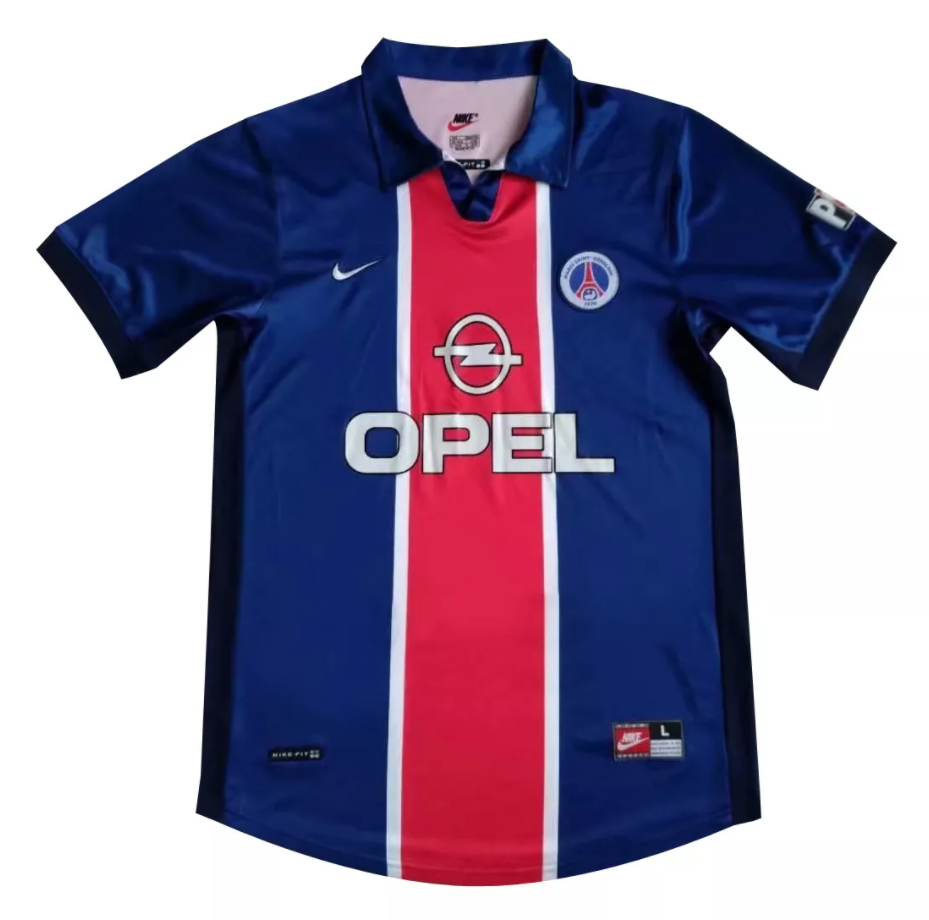 Camisa PSG Home Retrô 1998/99