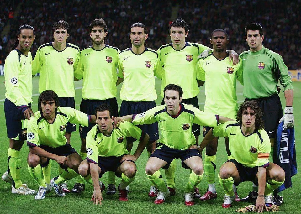 Camisa Barcelona Away Retrô 2005/06