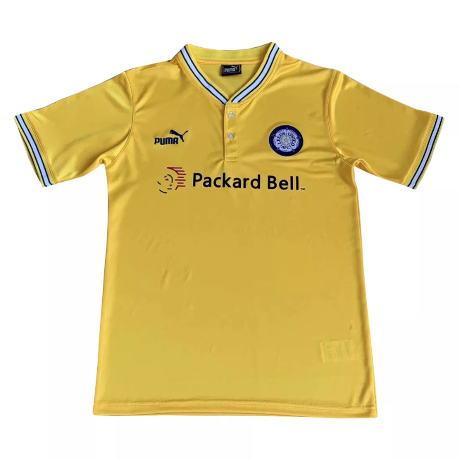 Camisa Leeds United Away Retrô 1990