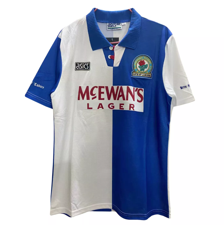 Camisa Blackburn Rovers Home Retrô 1994/95