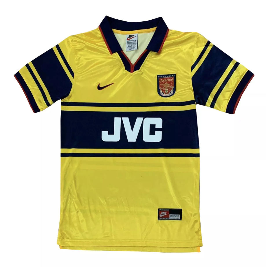Camisa Arsenal Away Retrô 1997