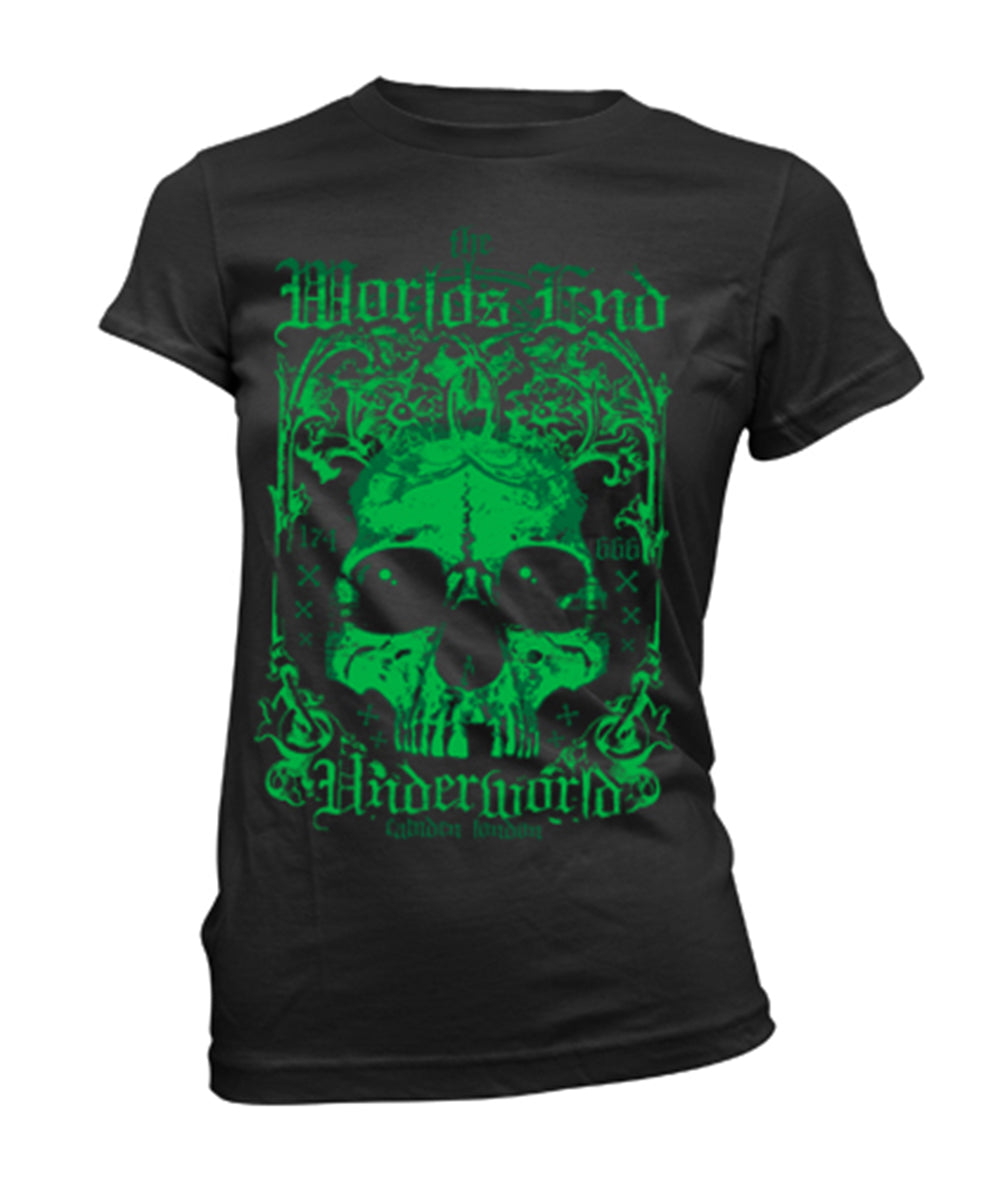 Worlds End, Underworld T-shirt - Green