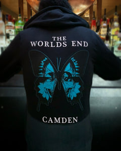 Worlds End Camden, Skull Butterfly - hoodie