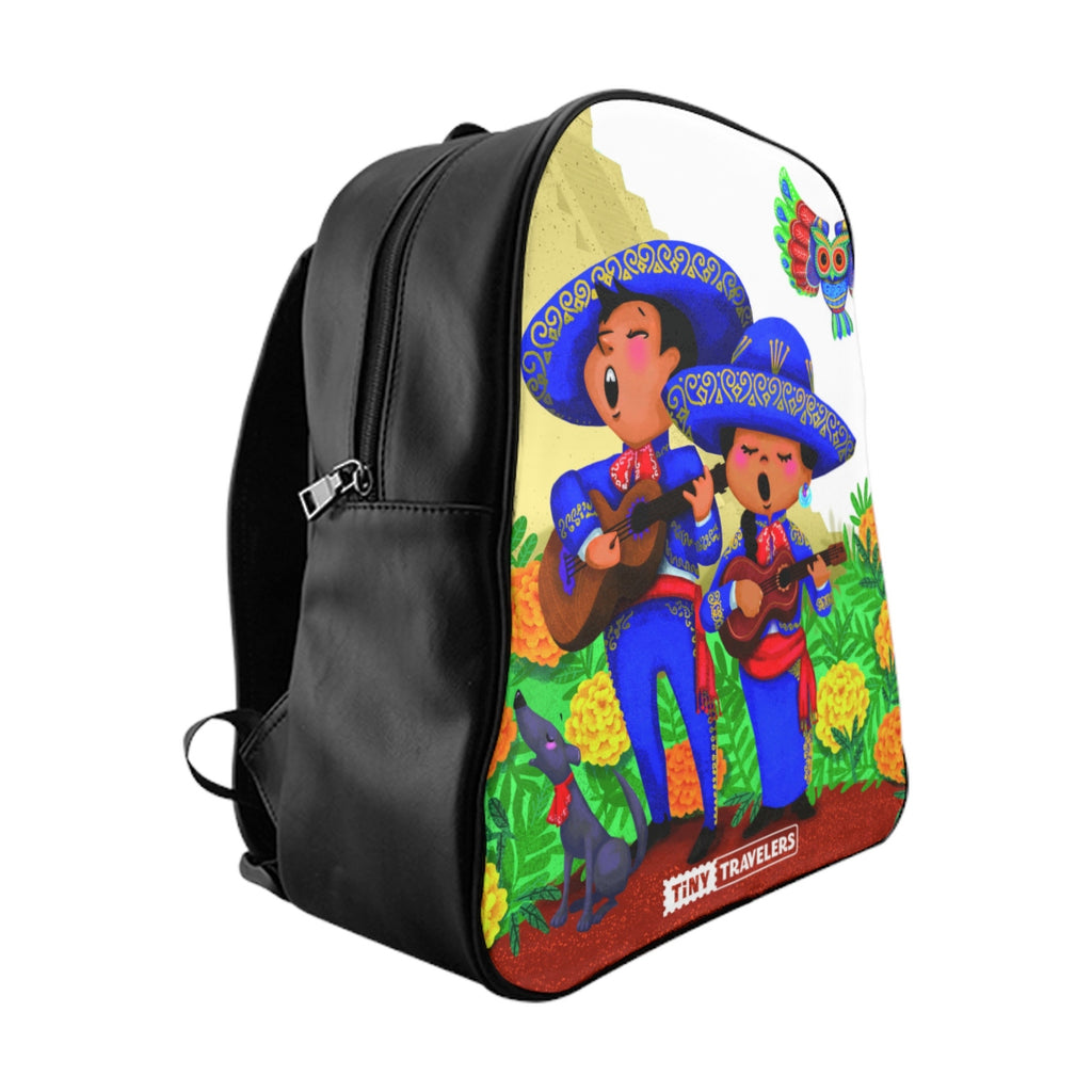 Tiny Travelers Mexico School Backpack