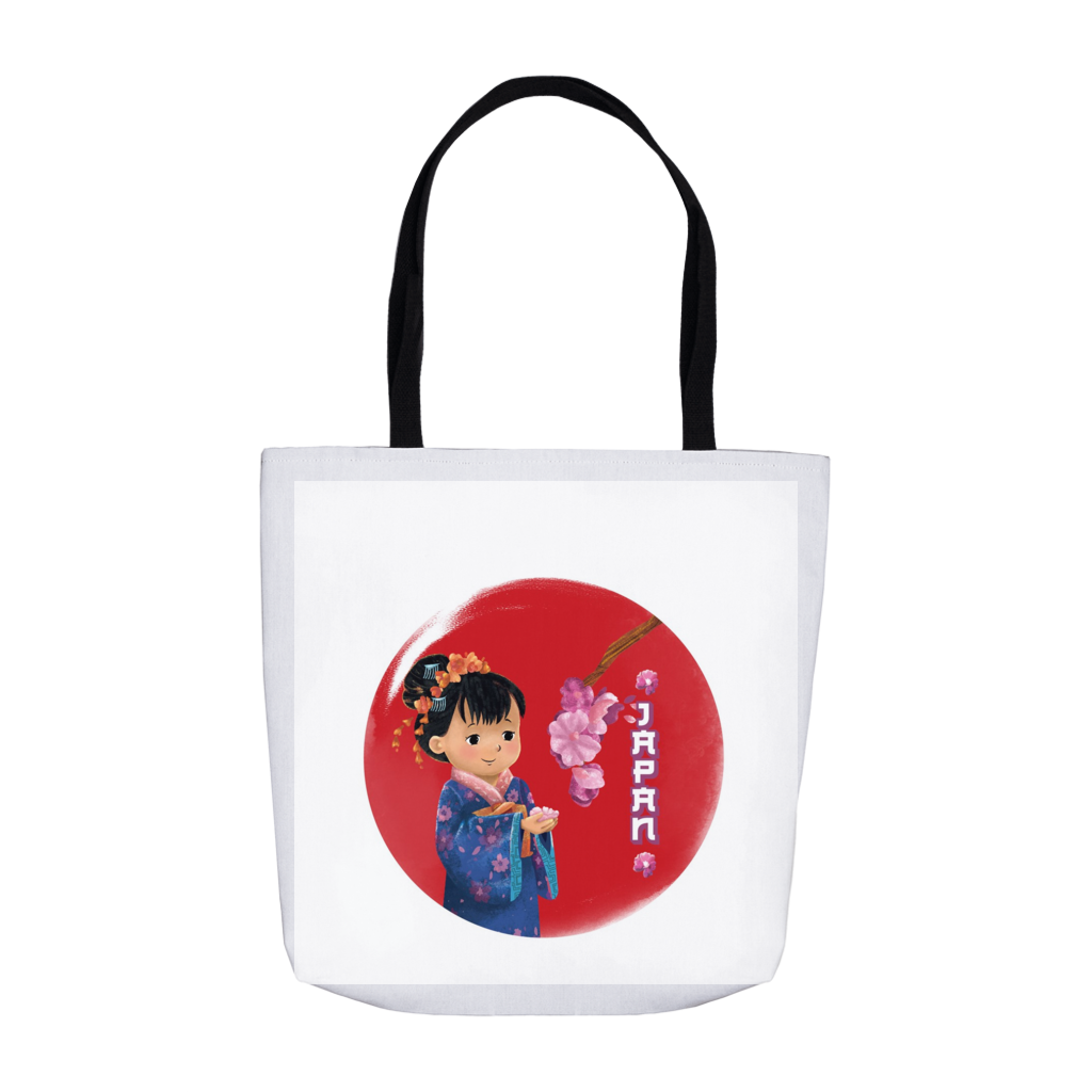 Tiny Travelers Japan Tote Bag