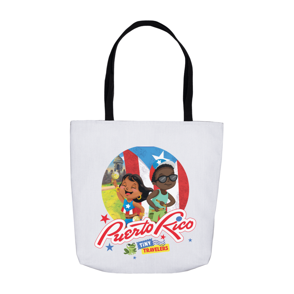 Tiny Travelers Puerto Rico Tote Bag