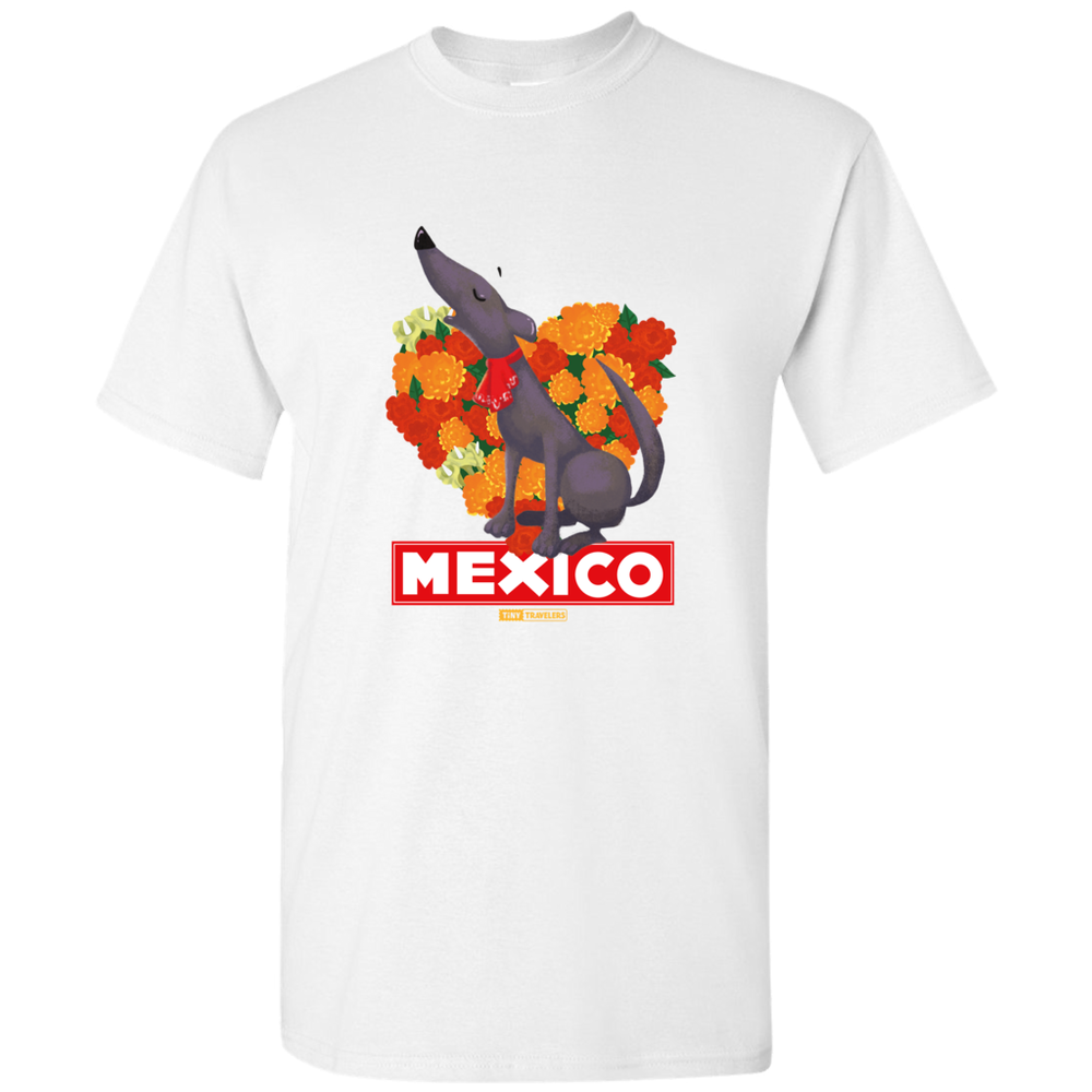 Tiny Travelers Mexico Men's T-Shirts