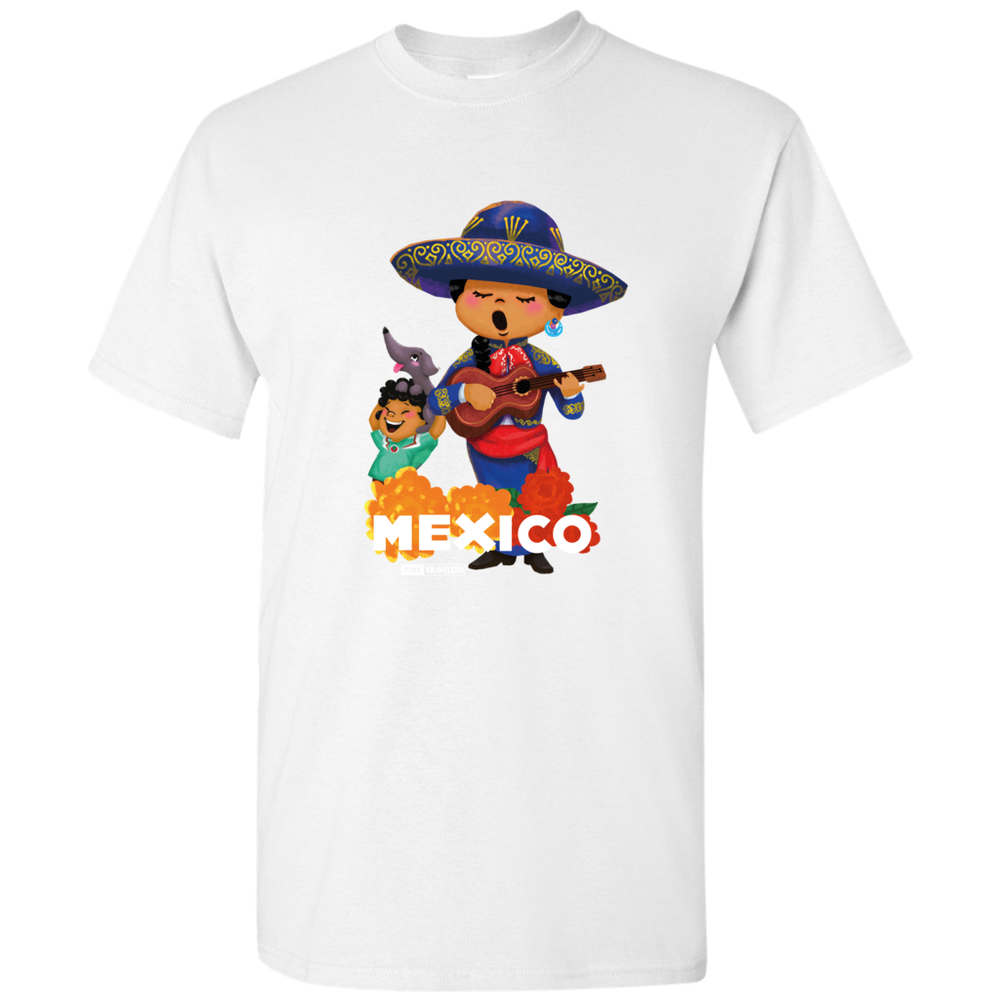Tiny Travelers Mexico Mariachi Men's T-Shirts