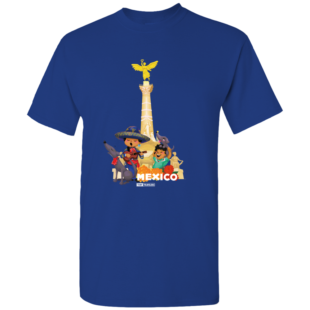 Tiny Travelers Mexico Angel Men's T-Shirts