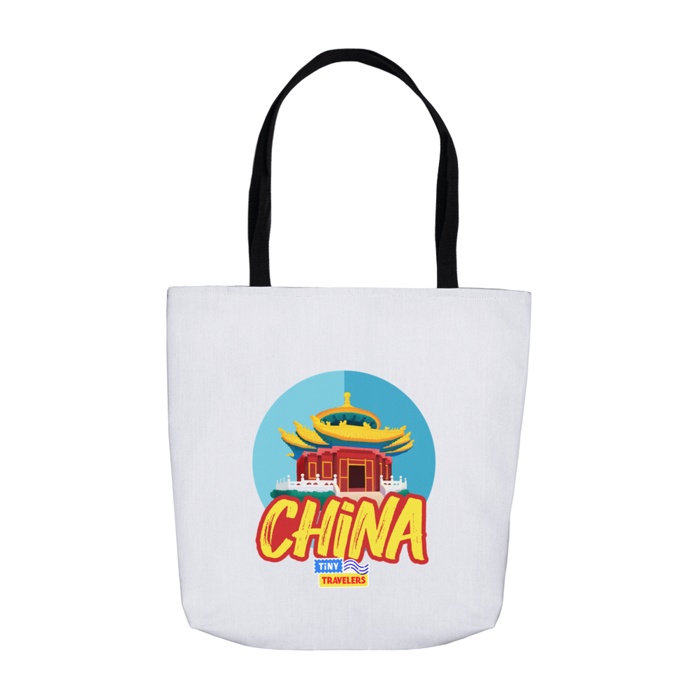 Tiny Travelers China Tote Bag