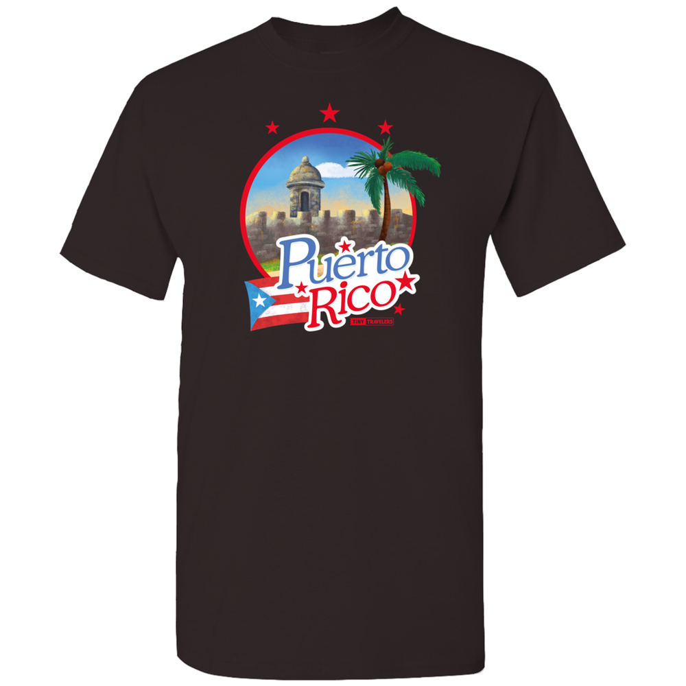 Tiny Travelers Puerto Rico Men's T-Shirt
