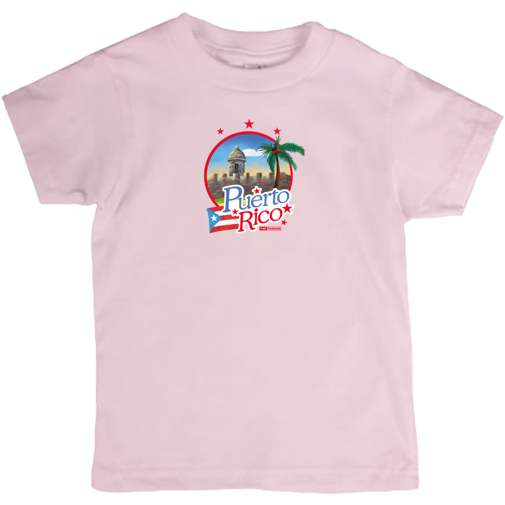 Tiny Travelers Puerto Rico Kids T Shirt