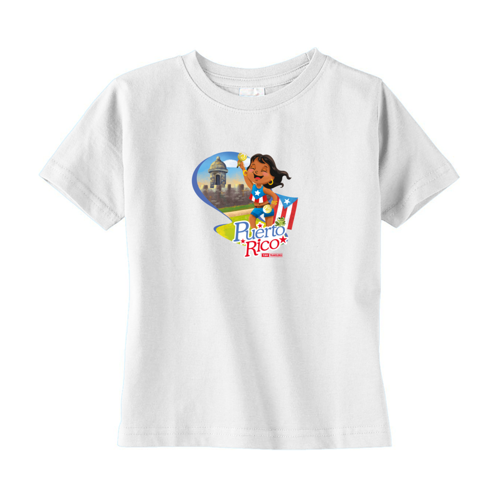 Tiny Travelers Puerto Rico Toddler T Shirt