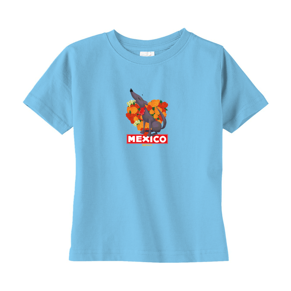 Tiny Travelers Mexico Toddler T-Shirts