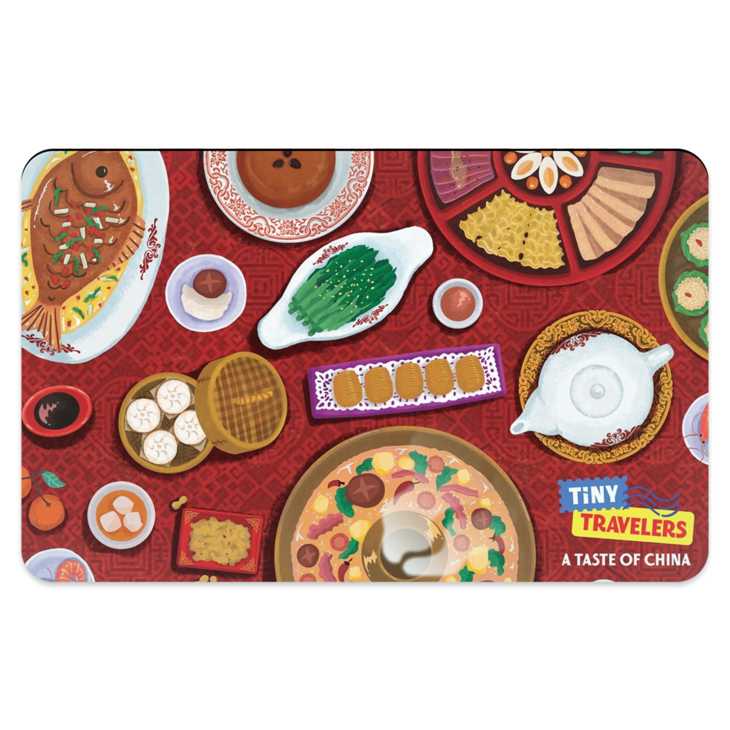Tiny Travelers China Placemat