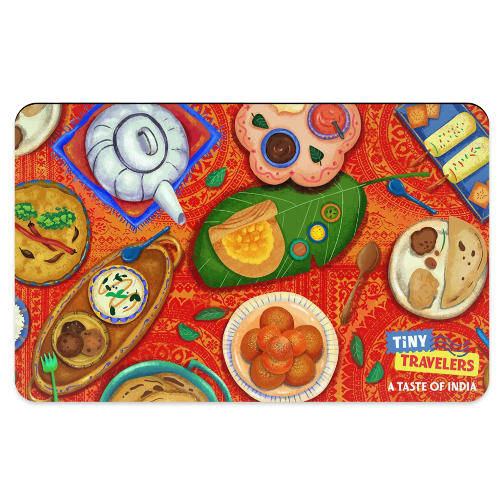 Tiny Travelers India Placemat