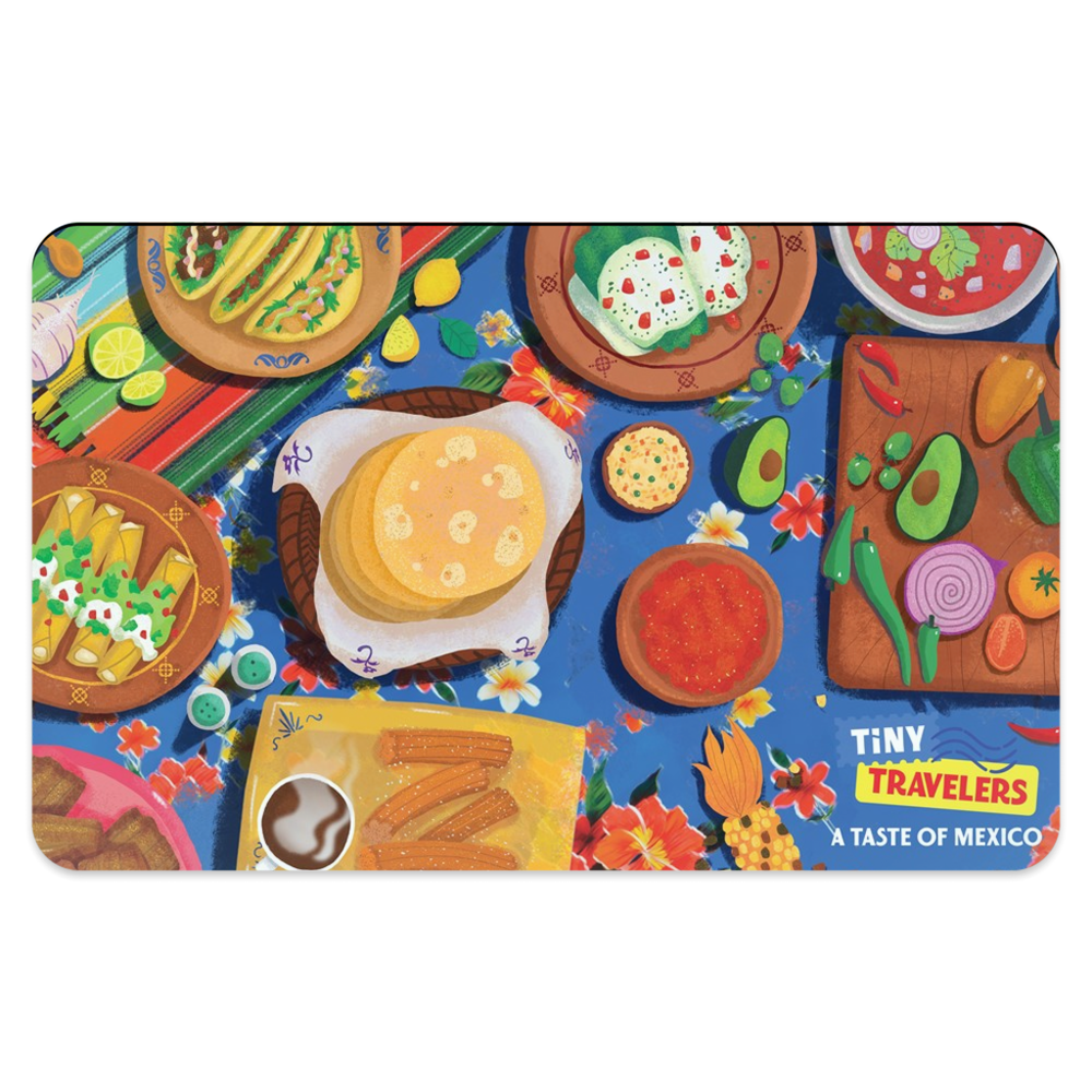 Tiny Travelers Mexico Placemat