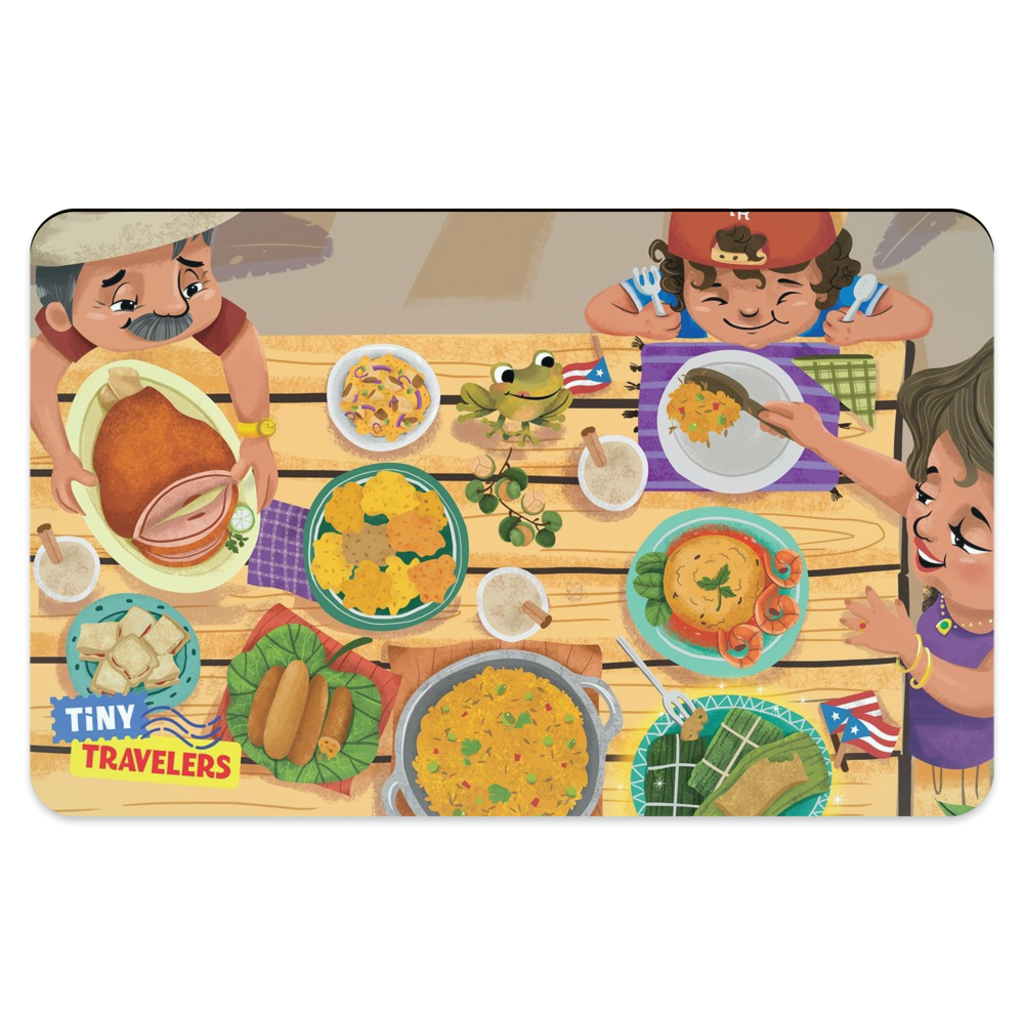 Tiny Travelers Puerto Rico Placemat