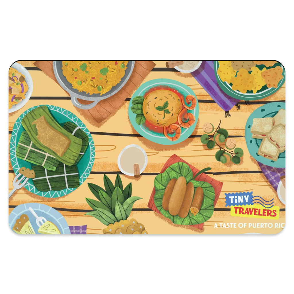 Puerto Rico Placemat