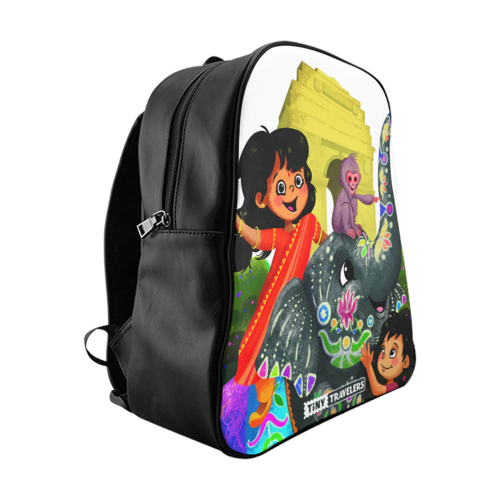 Tiny Travelers India School Backpack