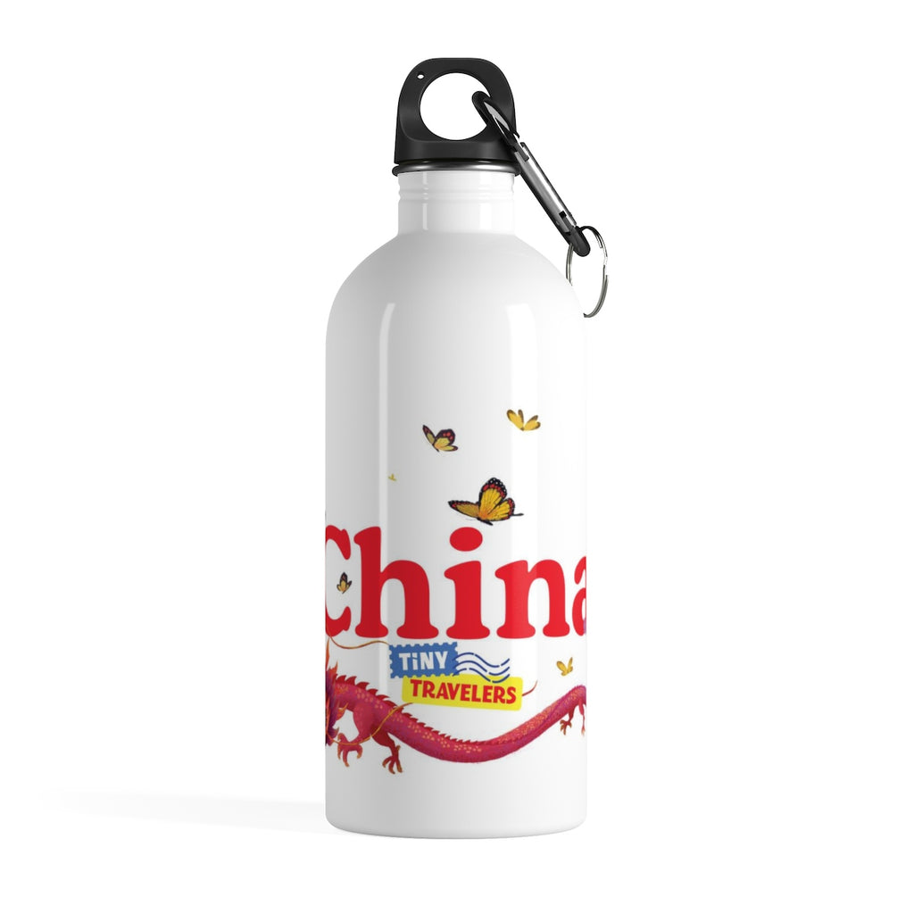 Tiny Travelers China Stainless Steel Water Bottle
