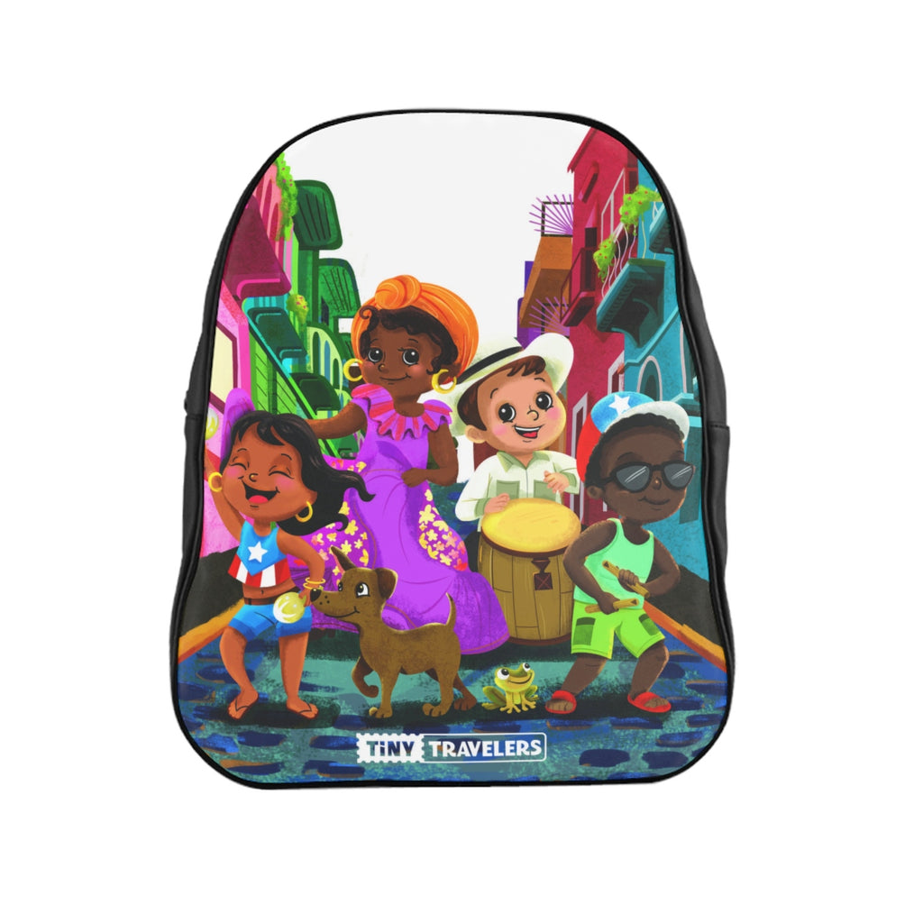 Tiny Travelers Puerto Rico School Backpack