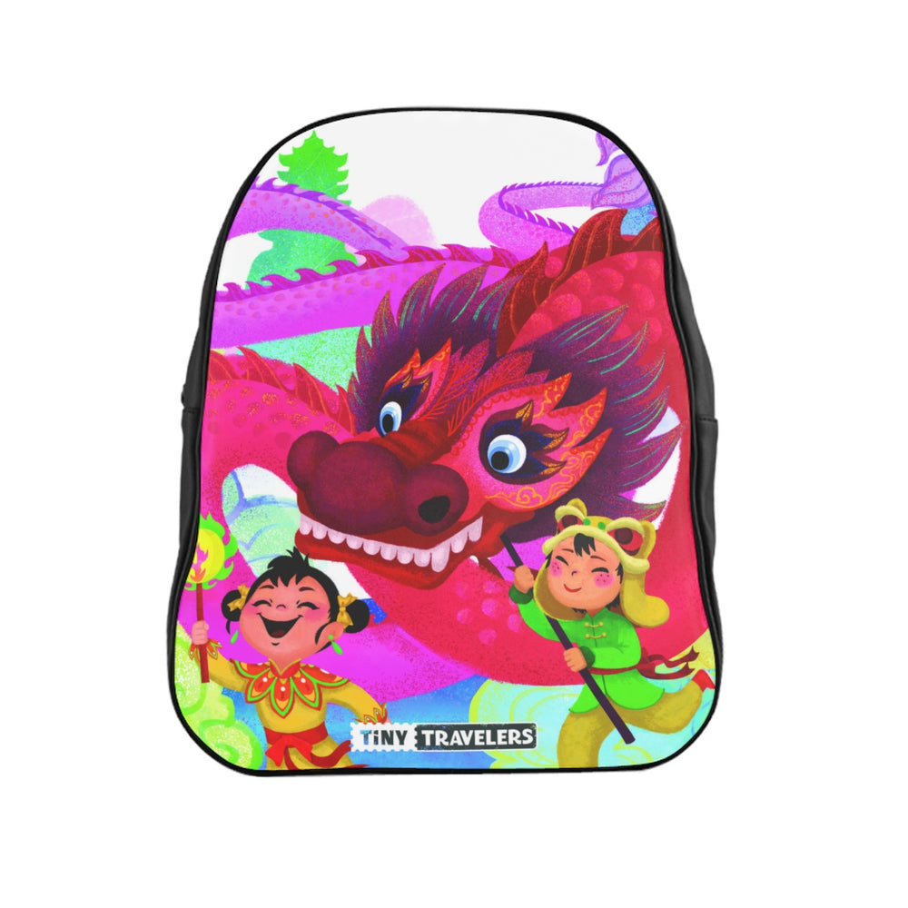Tiny Travelers School Backpack - China