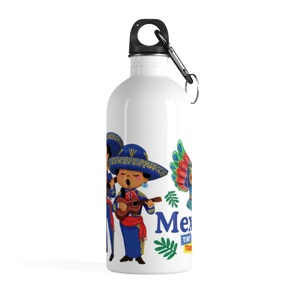 Tiny Travelers Mexico Stainless Steel Water Bottle
