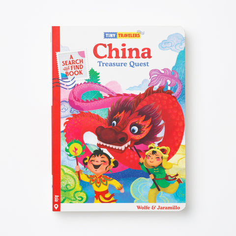 China Treasure Quest Book
