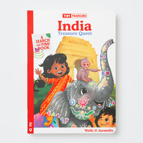 India Treasure Quest Book