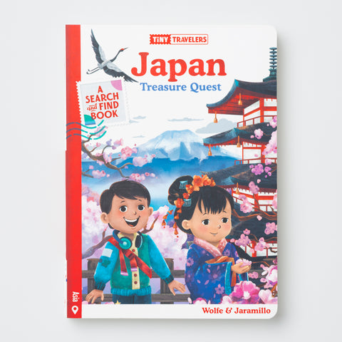 Japan Treasure Quest Book