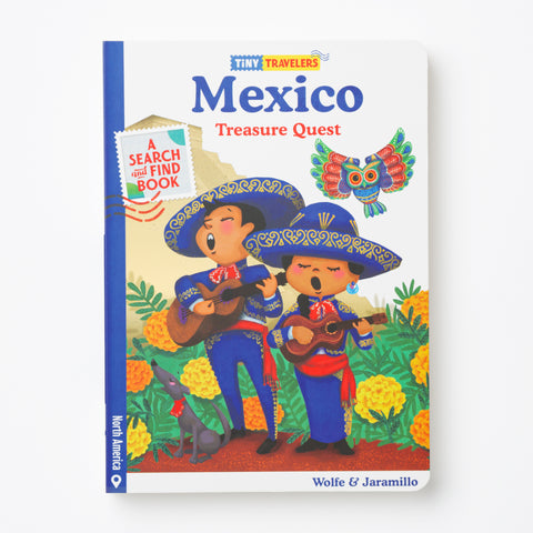 Mexico Treasure Quest Book