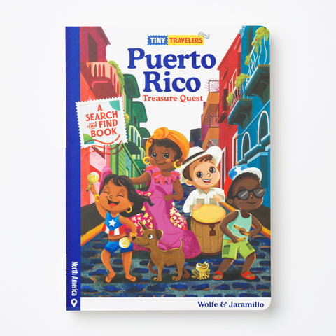 Puerto Rico Treasure Quest Book