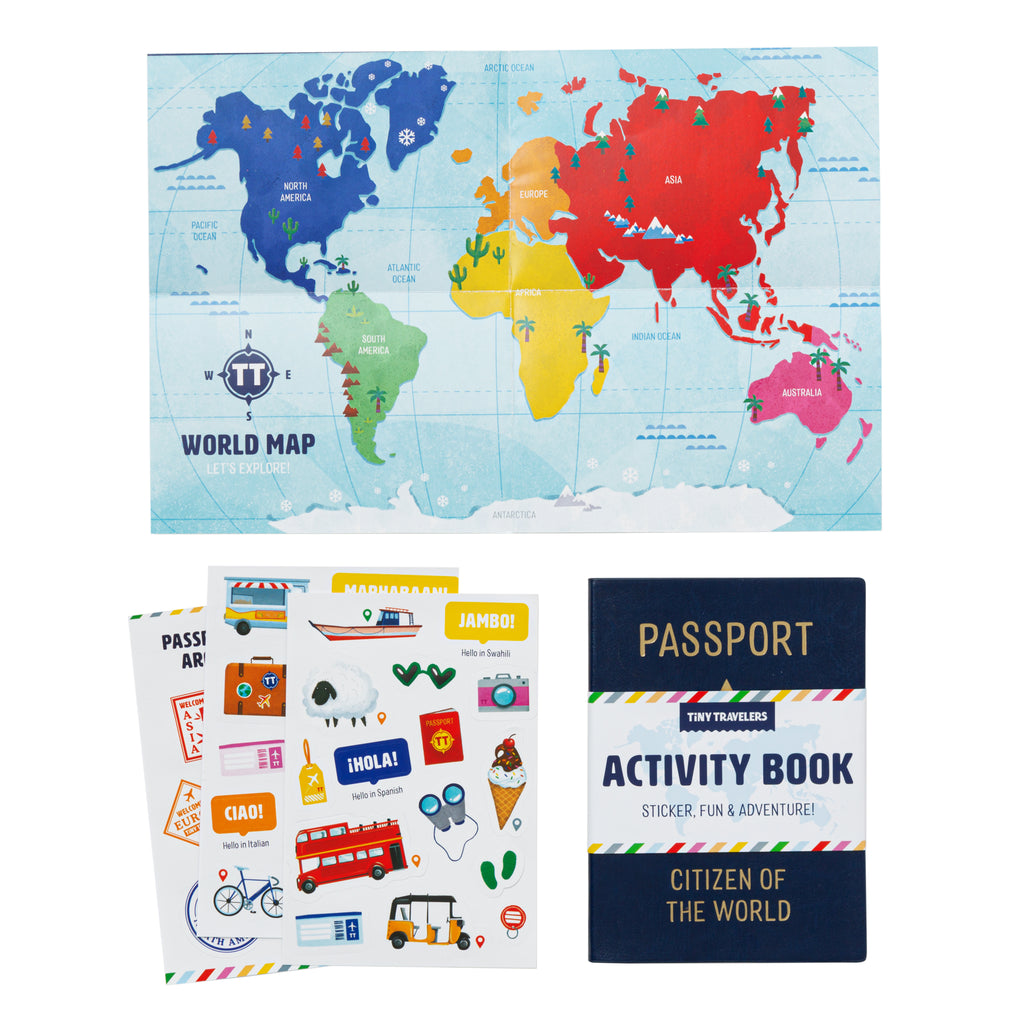 Passport Activity Book