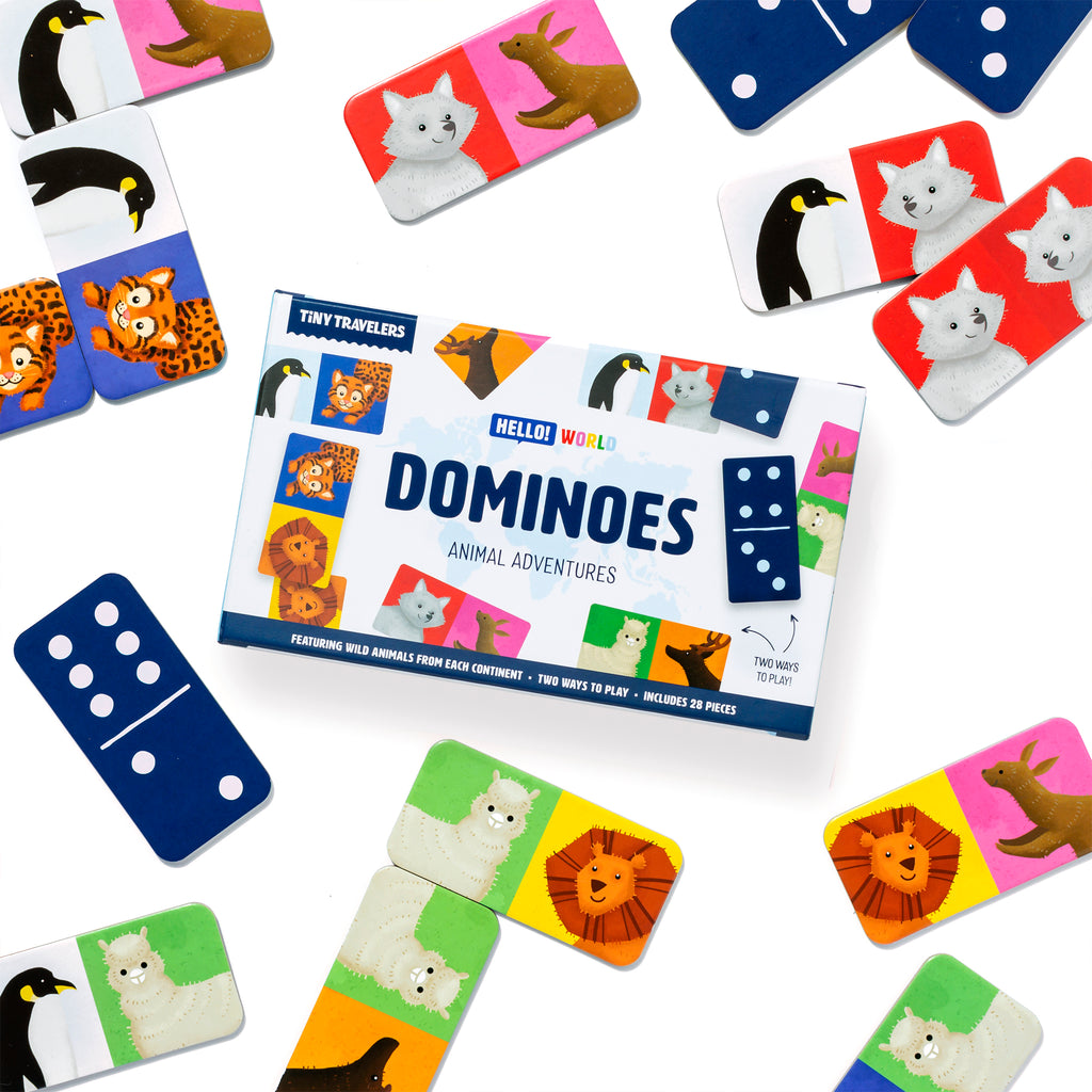 Dominoes - Animal Adventures